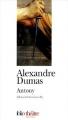Couverture Antony Editions Folio  (Théâtre) 2002