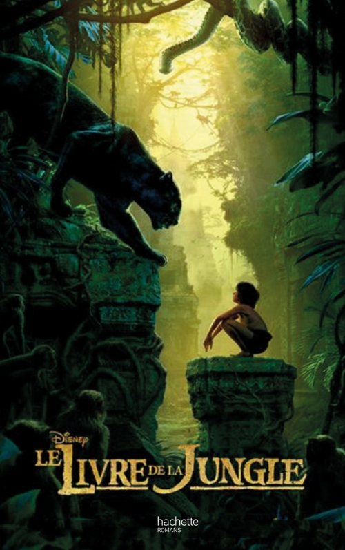 Couverture Le livre de la jungle, le roman du film