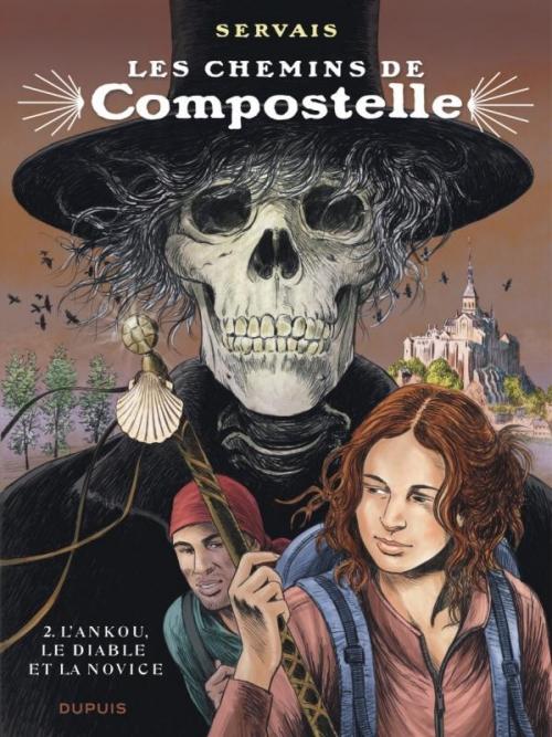 Couverture Les chemins de Compostelle, tome 2 : L'Ankou, le diable et la novice