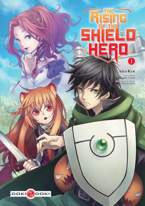 Couverture The Rising of the Shield Hero, tome 1