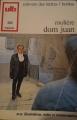 Couverture Dom Juan Editions Bordas (Univers des lettres) 1972