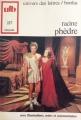 Couverture Phèdre Editions Bordas (Univers des lettres) 1973