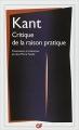 Couverture Critique de la raison pratique Editions Flammarion (GF) 2003