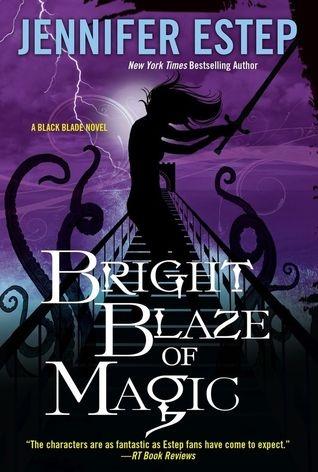 Couverture Black Blade, book 3 : Bright Blaze of Magic