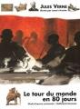 Couverture Le tour du monde en quatre-vingts jours / Le tour du monde en 80 jours Editions Gallimard  (Jeunesse - Chefs-d'oeuvre universels) 1994
