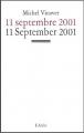 Couverture 11 septembre 2001 Editions L'Arche 2002