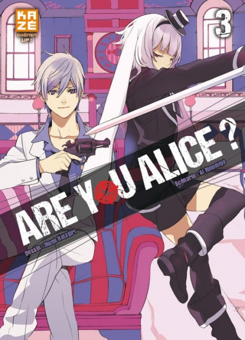 Couverture Are you Alice ?, tome 03