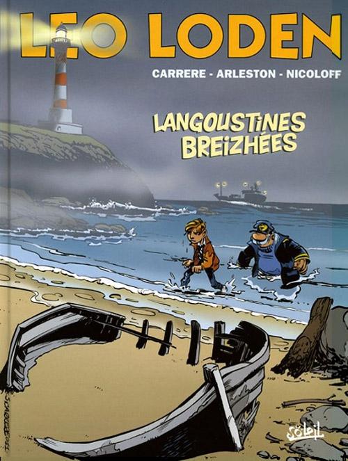Couverture Léo Loden, tome 20 : Langoustines breizhées