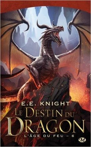 Couverture L'âge du feu, tome 6 :  Le Destin du dragon