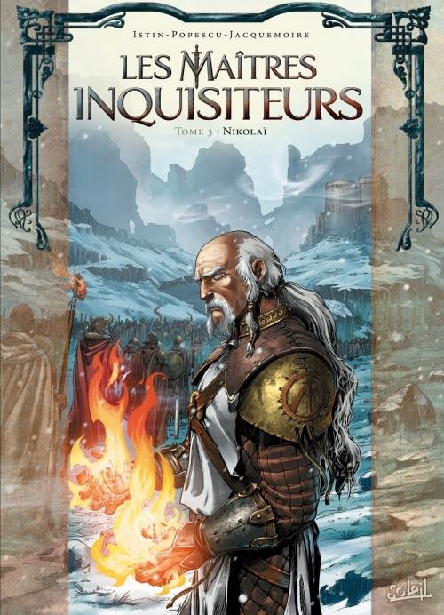 Couverture Les maîtres inquisiteurs, tome 03 : Nikolaï