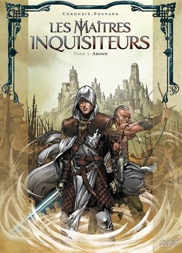 Couverture Les maîtres inquisiteurs, tome 05 : Aronn