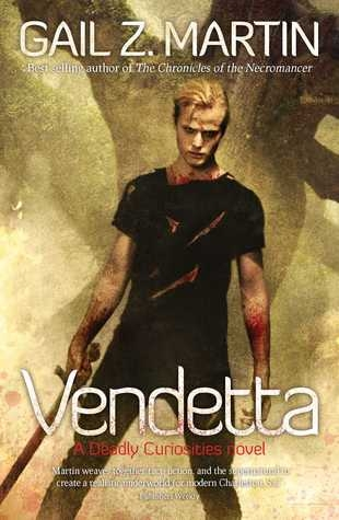 Couverture Deadly Curiosities, book 2: Vendetta
