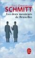 Couverture Les deux messieurs de Bruxelles Editions Le Livre de Poche 2014