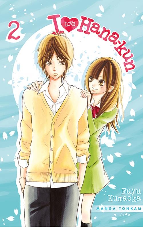 Couverture I love Hana-kun, tome 02