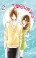 Couverture I love Hana-kun, tome 02 Editions Tonkam (Shôjo) 2015