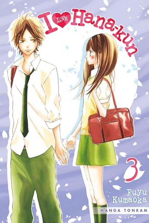 Couverture I love Hana-kun, tome 03