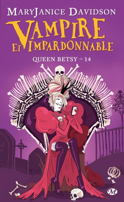 Couverture Queen Betsy, tome 14 : Vampire et impardonnable