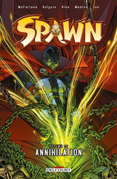 Couverture Spawn, tome 14 : Annihilation