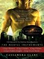 Couverture La Cité des ténèbres / The Mortal Instruments, tome 1 : La Coupe mortelle / La Cité des ténèbres Editions Simon & Schuster 2007