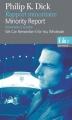Couverture Rapport Minoritaire, Souvenirs à vendre Editions Folio  (Bilingue) 2009