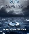 Couverture Le sel de nos larmes Editions Gallimard  2016