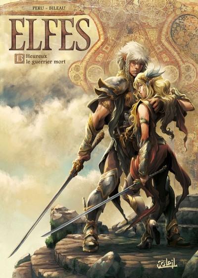 Couverture Elfes, tome 13 : Heureux le guerrier mort