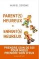 Couverture Parents heureux = enfants heureux Editions Mazarine 2016