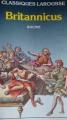 Couverture Britannicus Editions Larousse (Classiques) 1971