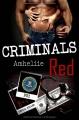 Couverture Criminals Red Editions Autoédité 2016