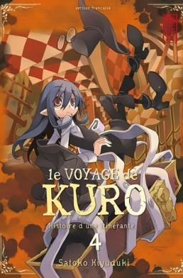 Couverture Le voyage de Kuro, tome 4