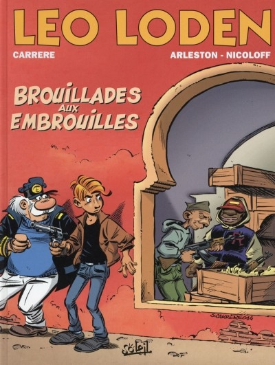 Couverture Léo Loden, tome 23 : Brouillades aux embrouilles