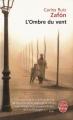 Couverture L'ombre du vent Editions Le Livre de Poche 2009