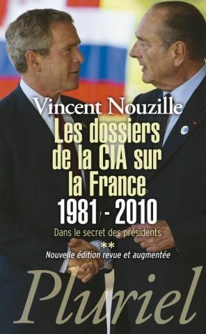 Couverture Les dossiers de la CIA sur la France 1981-2010