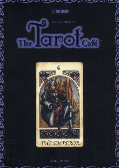 Couverture The Tarot Café, tome 4