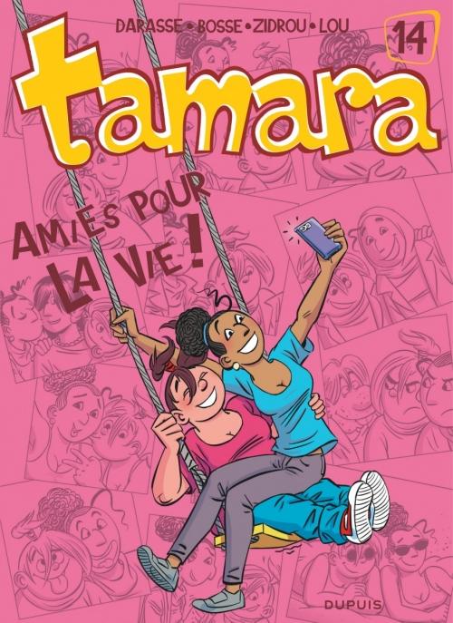 Couverture Tamara, tome 14 : Amies pour la vie