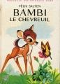 Couverture Bambi : L'histoire d'une vie dans les bois / Bambi le chevreuil Editions Hachette (Nouvelle bibliothèque rose) 1969