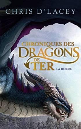 Couverture Chroniques des dragons de Ter, tome 1 : La horde