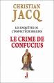 Couverture Les enquêtes de l'inspecteur Higgins, tome 10 : Le crime de Confucius Editions J 2013