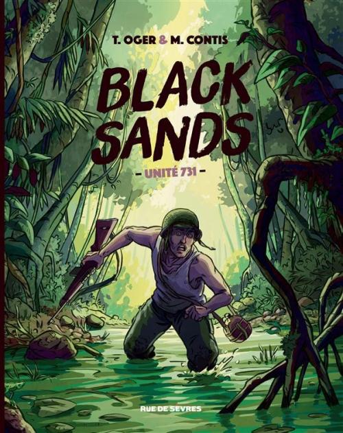 Couverture Black Sands : unité 731