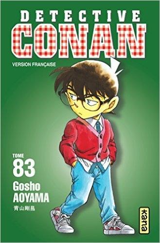 Couverture Détective Conan, tome 83
