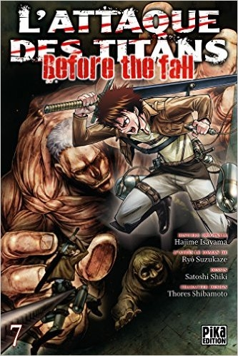 Couverture L'attaque des Titans : Before the fall, tome 07