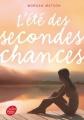 Couverture L'été des secondes chances Editions Le Livre de Poche (Jeunesse) 2016