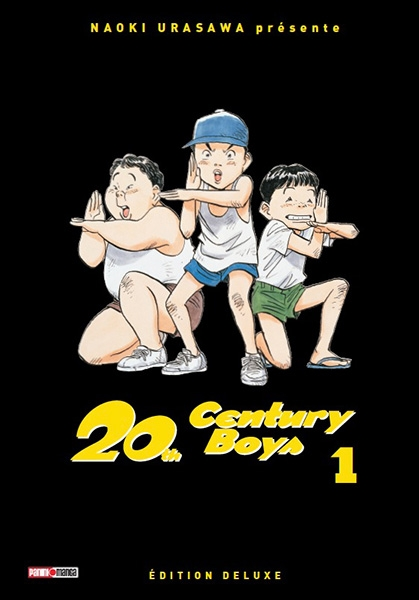 Couverture 20th Century Boys (édition deluxe), tome 01