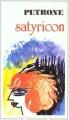 Couverture Satiricon / Satyricon Editions Flammarion (GF) 1981