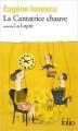 Couverture La Cantatrice chauve suivi de La Leçon Editions Folio  2009