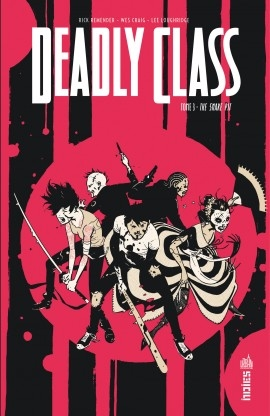 Couverture Deadly Class, tome 3: The snake pit