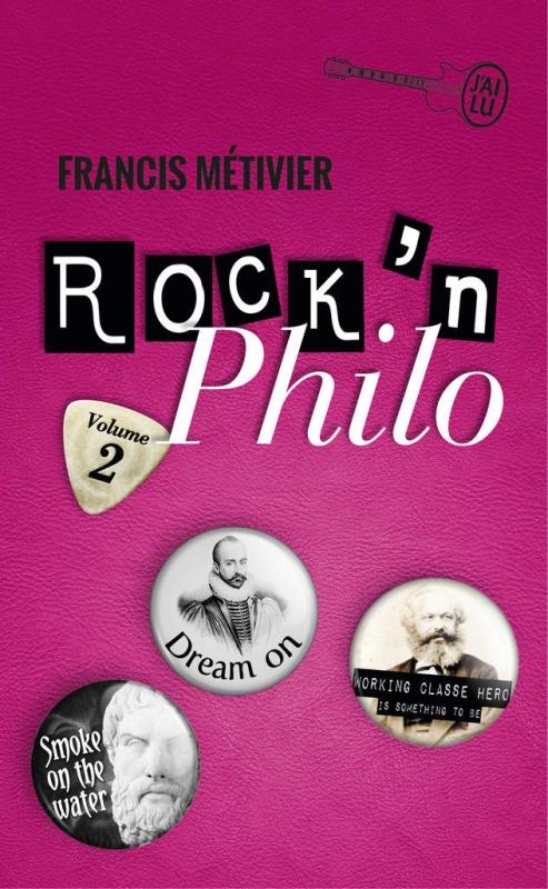 Couverture Rock'n philo, tome 2