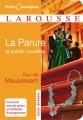 Couverture La parure et autres nouvelles Editions Larousse (Petits classiques) 2009