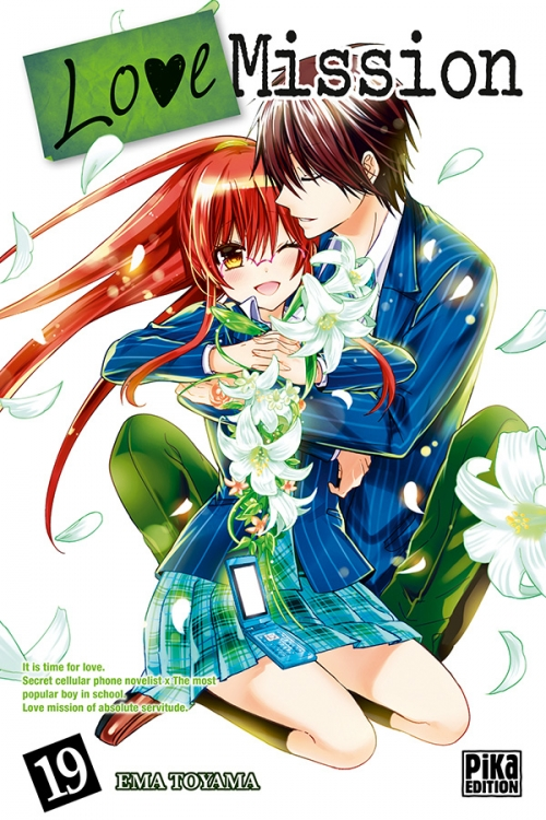 Couverture Love Mission, tome 19