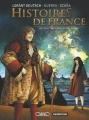 Couverture Histoires de France, tome 2 : Louis XIV et Fouquet Editions Casterman 2014